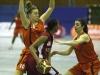 links Alyssa Karel, rechts Denise Beliveau     -- Rhein Main Baskets