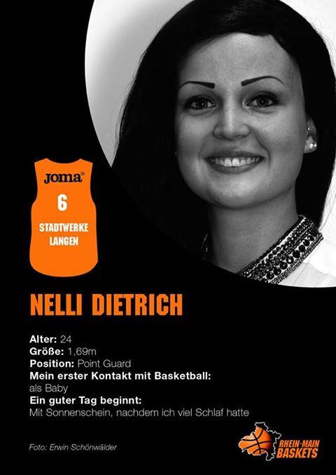 Nelli Autogrammkarte 2013 (Hauptsache Kommunikation)