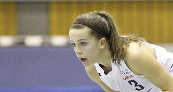Foto: Marcel Lorenz Sie ging mit den Baskets in die 2. Liga: Pia Dietrich.