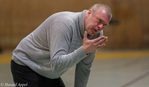 Baskets-Coach Peter Kortmann ; Foto: Harald Appel