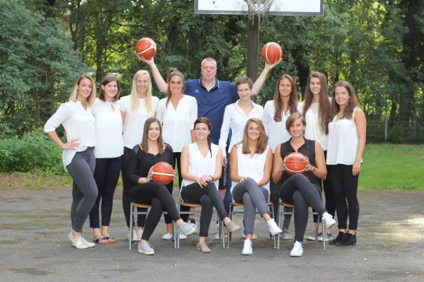 Die Rhein-Main Baskets in der Saison 2016/2017; Foto: Erwin Schönwälder