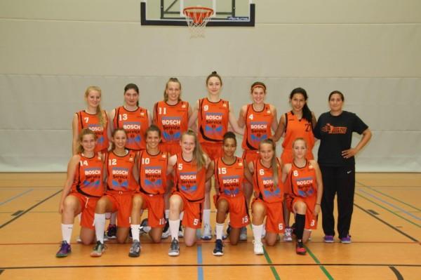 Das WNBL-Team der Rhein-Main Baskets in der Saison 2016/2017